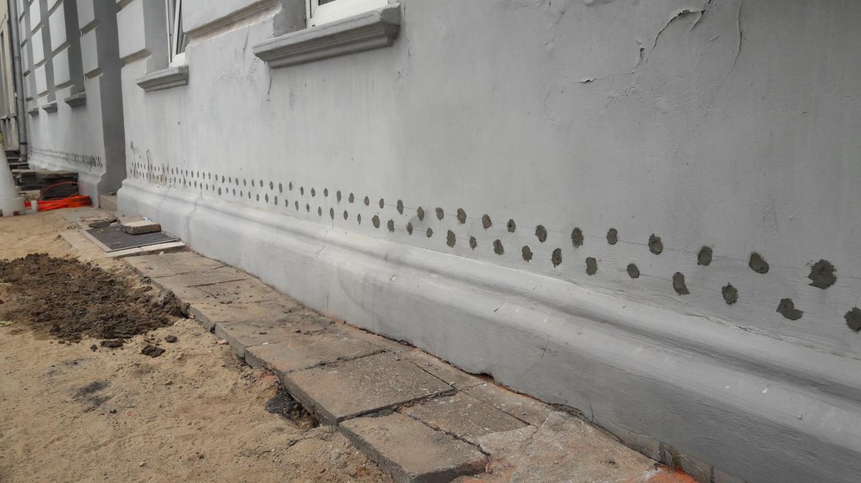 odgrzybianie muru